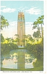 Click here to enlarge image and see more about item p11444: Lake Wales,FL, The Singing Tower Postcard 1931