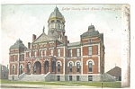 Fremont, NE, County Court House Postcard 1907