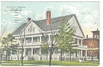 Lincoln, NE, Governor's Mansion Postcard 1922