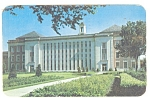 Lincoln, NE, U of NE Library Postcard 1956