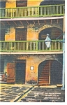 New Orleans LA Prison Rooms Cabildo Postcard p11481