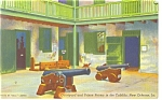 New Orleans, LA, Courtyard the Cabildo Postcard