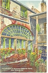 New Orleans, LA, Fan Window Claiborne Home Postcard