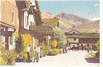 Union Pacific Railroad  Sun Valley ID Postcard p11517