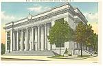 Wilson NC County Court House Postcard p11530