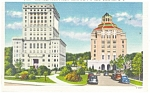 Asheville NC Suncombe County Court House Postcard p11532