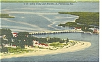 St Petersburg,FL, Johns Pass Postcard