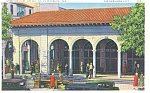 Click here to enlarge image and see more about item p11564: St Petersburg  FL Open Air Post Office p11564