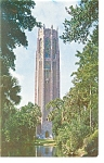 Click here to enlarge image and see more about item p11565: Lake Wales FL Carillon Americana Postcard p11565