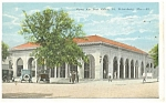 Click here to enlarge image and see more about item p11566: St Petersburg,FL, Open Air Post Office Postcard 1924