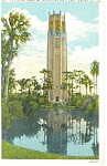 Lake Wales FL The Bok Singing Tower Postcard p11567