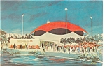 Click here to enlarge image and see more about item p11629: New York World's Fair Postcard Travelers Insurance