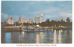 Miami Florida  Postcard p1165