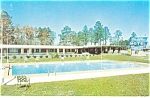 High Springs FL Cadillac Motel Postcard p11699