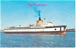 The Ferry Pocahontas Postcard