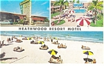 Miami Beach,FL, Heathwood Resort Motel Postcard