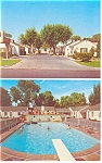 Colonial Village Motel, Salt Lake City,UT Postcard