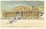 Olympic Arena Lake Placid NY  Postcard p11788 1938