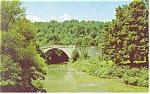 Click here to enlarge image and see more about item p11804: Casselman River Bridge US 40 MD Postcard p11804