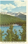 Echo Lake, Denver Mountain Parks, CO Postcard