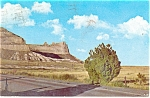 Click here to enlarge image and see more about item p11812: Saddle Rock,Scotts Bluff National Monument NE Postcard