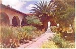 Click here to enlarge image and see more about item p11823: Mission San Diego De Alcala CA Postcard p11823