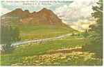 Powder River Pass US 16 Wyoming Postcard p11829 1956