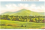 Mt Pico Green Mountains VT Postcard
