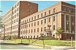 Click here to enlarge image and see more about item p11847: Meriden, CT, Meriden Hospital Postcard 1969