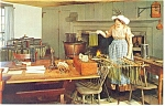 Click here to enlarge image and see more about item p11862: Fitch House,Old Sturbridge Village, MA Postcard