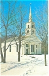 Meetinghouse Old Sturbridge Village MA Postcard p11867