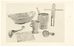 Click here to enlarge image and see more about item p11869: Woodenware,Old Sturbridge Village, MA Postcard