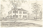 Salem Towne House Old Sturbridge Village MA Postcard p11873