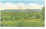 Bennington, VT, Green Mountains Postcard 1935