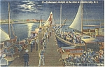 Click here to enlarge image and see more about item p11887: Atlantic City,NJ Fisherman's Delight Postcard