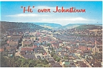 Johnstown PA Panoramic View Postcard p11907