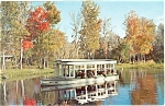 Silver Springs, FL Boats Postcard 1965