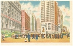 Herald Square Junction Street Scene New York City Postcard p11964