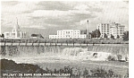 Click here to enlarge image and see more about item p1197: Idaho Falls Idaho Spillway  Postcard p1197