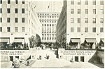 British and French Empire Buildings New York City Postcard p11990