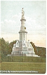 Soldier s National Monument Gettysburg PA Postcard p12013
