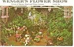 Leola, PA,Wenger's Flower Show Postcard