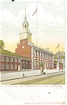 Philadelphia, PA, Independence Hall Postcard ca 1906
