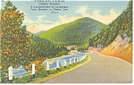 Mountain Highway Pennsylvania Scene  Postcard