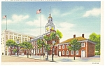 Philadelphia PA Independence Hall Postcard p12067