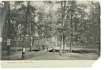 York, PA, Brookside  Park Postcard