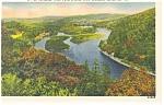 Delaware Water Gap, PA, Delaware River Postcard