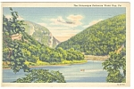 Picturesque Delaware Water Gap, PA,  Postcard