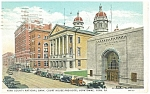 York PA County Court House Postcard p12086