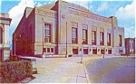 Philadelphia PA Convention Hall Postcard p1208
